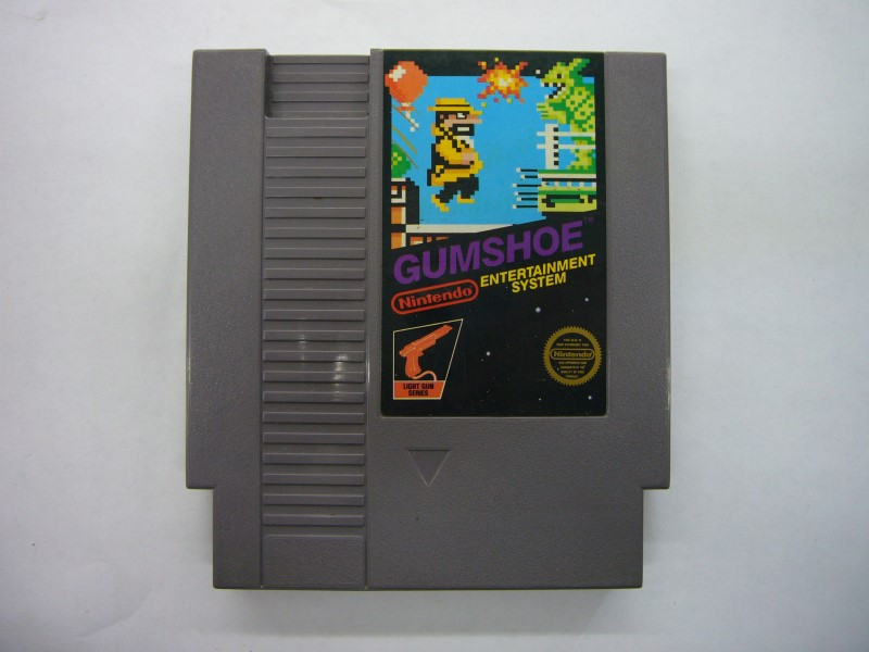 NINTENDO NES Game GUMSHOE