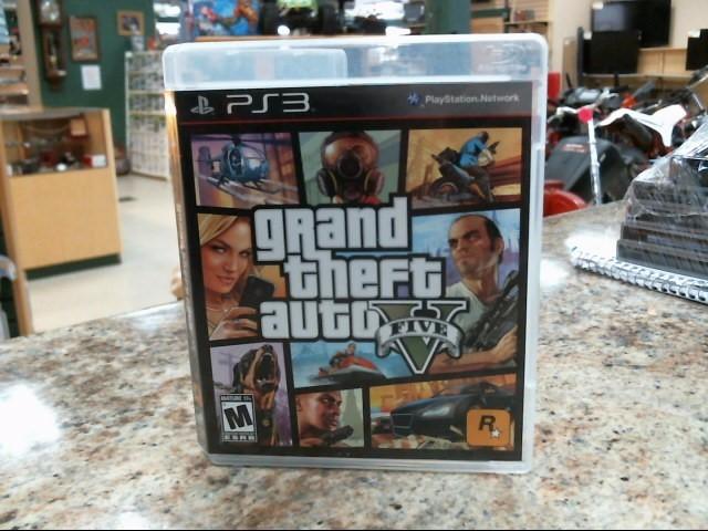 SONY Sony PlayStation 3 Game GRAND THEFT AUTO V - PS3