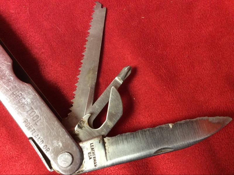 LEATHERMAN Pocket Knife SUPER TOOL