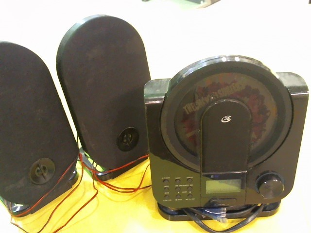 GPX CD Player & Recorder HC208B