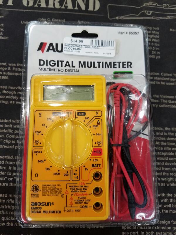 AUTOCRAFT Miscellaneous Tool 85357