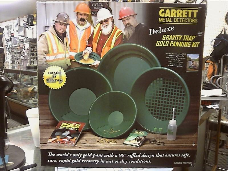 GARRETT G-1651400 DELUXE GRAVITY TRAP GOLD PANNING KIT