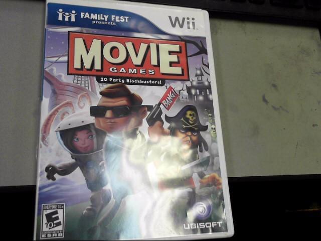 NINTENDO Nintendo Wii Game MOVIE GAME