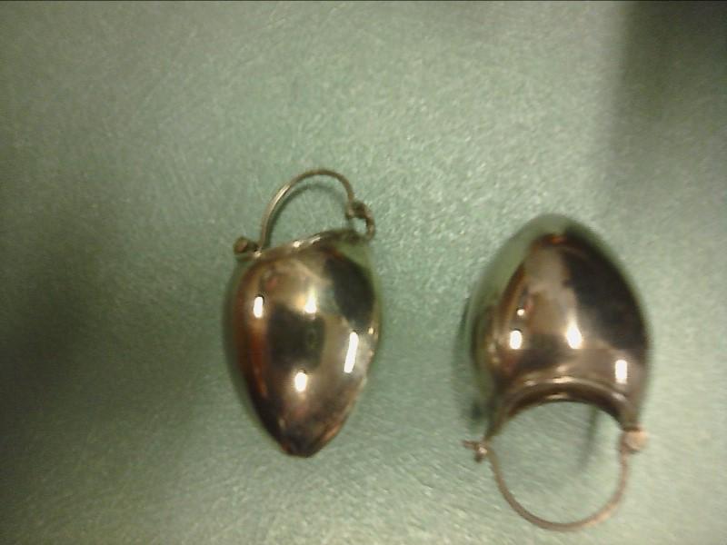 EARRINGS STERLING BUCKETS
