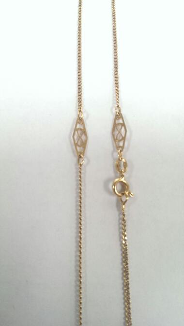 "16"" Gold Chain 18K Yellow Gold 3.9g"