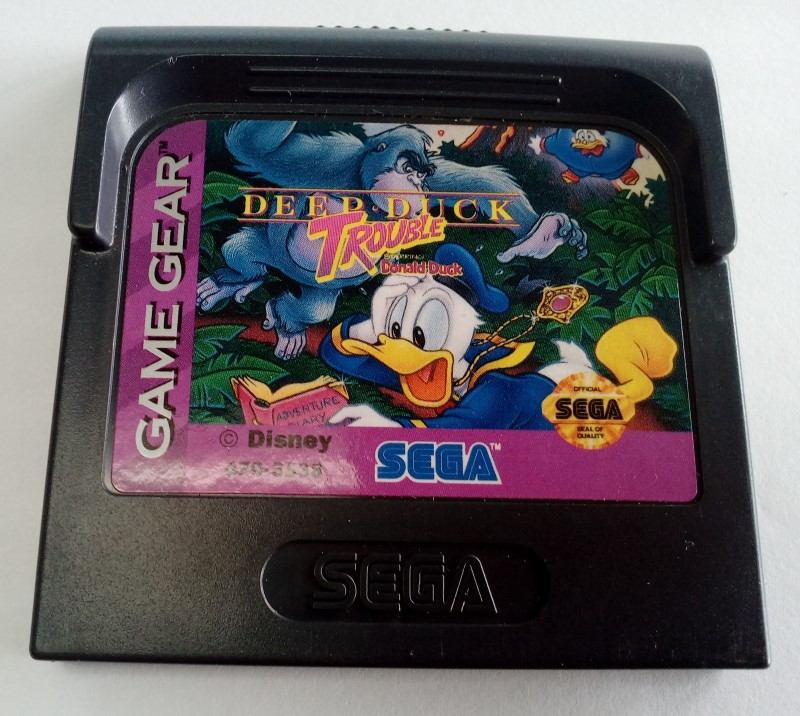 Sega GAME GEAR Deep Duck Trouble Starring Donald Duck *Cart Only*