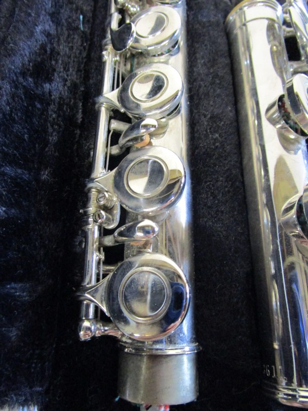 BUNDY CLOSE-HOLED FLUTE, MADE BY SELMER