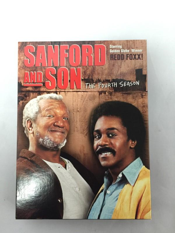 DVD MOVIE DVD SANFORD AND SON-THE FOURTH SEASON (2004)