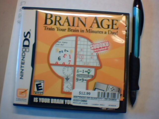 Brian Age Nintendo DS