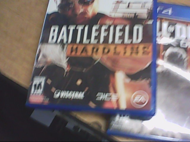 SONY Sony PlayStation 4 Game BATTLEFIELD HARDLINE - PS4
