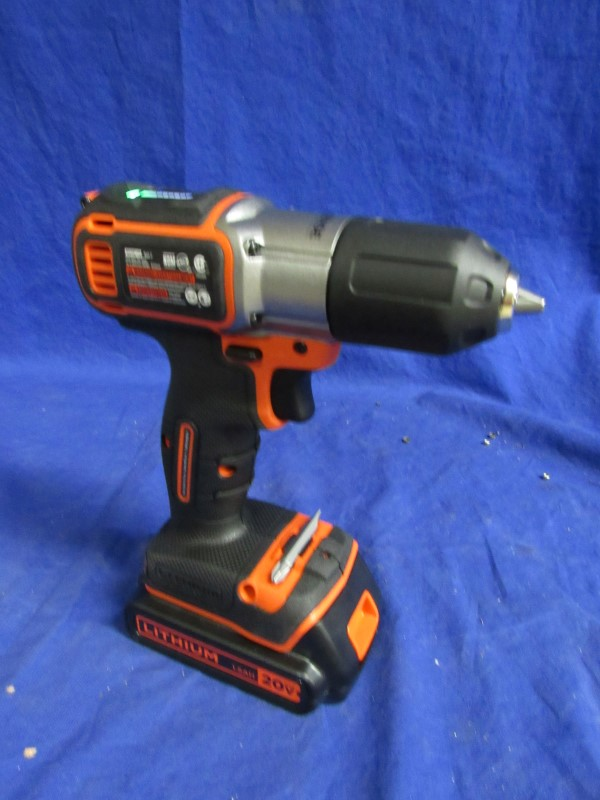 BLACK&DECKER Cordless Drill BCDE120
