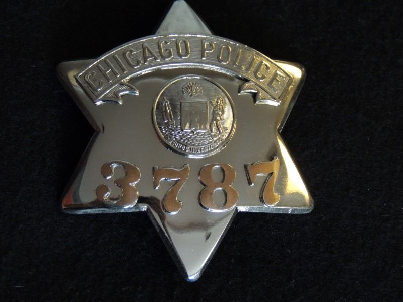 Chicago Police Pie Plate Badge - MEYER & WENTHE CHICAGO