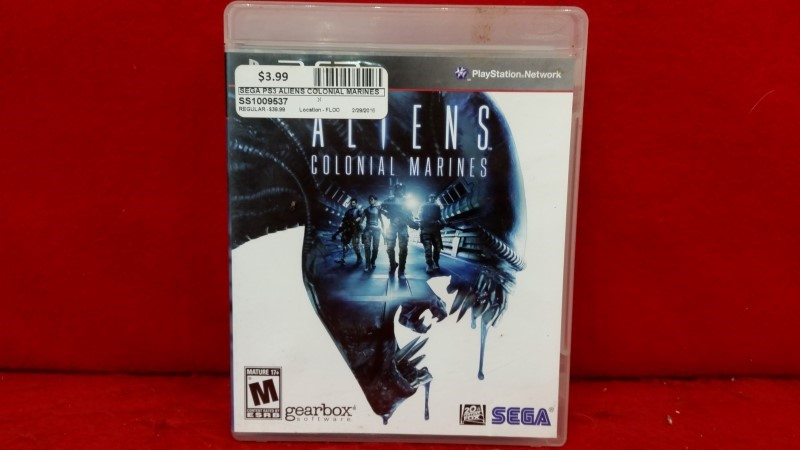 Aliens: Colonial Marines (Sony PlayStation 3, 2013)