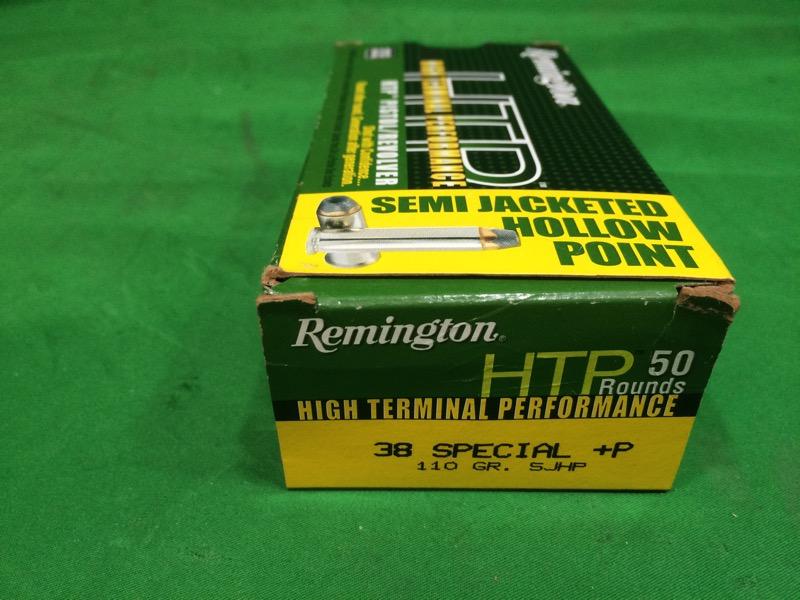 REMINGTON FIREARMS & AMMUNITION Ammunition HTP 38 SPECIAL REMINGTON FIREARMS AMM