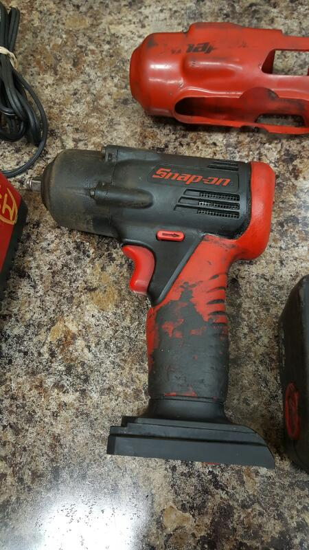 "Snap-On CT4410A 14.4V NiCd 3/8"" Cordless Drill Impact Driver"