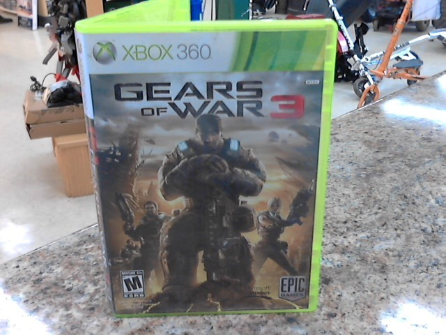 MICROSOFT Microsoft XBOX 360 Game GEARS OF WAR 3 - XBOX 360