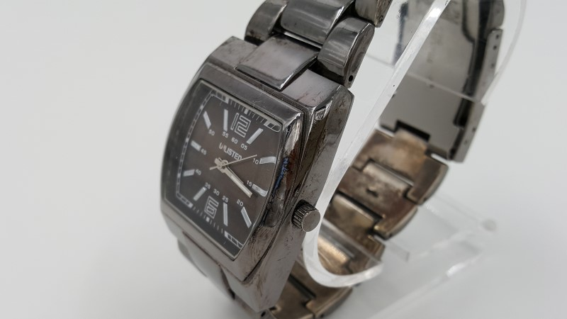 Men's Unlisted Brown Quartz Watch As-Is