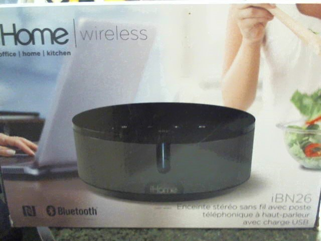 IHOME WIRELESS IBN26- BRAND NEW