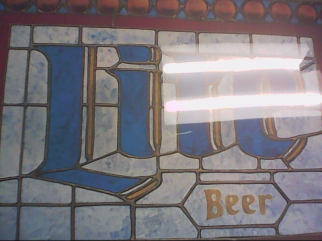MILLER LITE Sign BEER SIGN