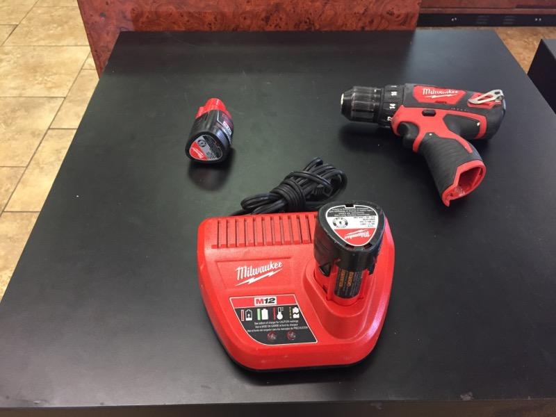MILWAUKEE Cordless Drill 2407-20