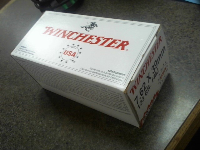 WINCHESTER Ammunition 7.62X39MM 123 GR