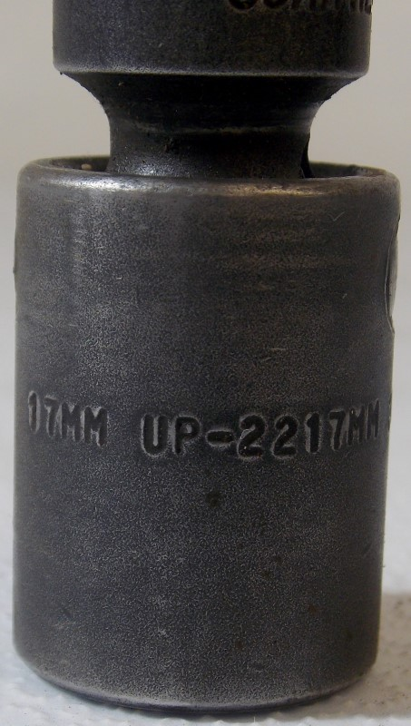 "3/8"" DRIVE DEEP IMPACT UNIVERSAL SOCKET 15MM, 17MM, 18MM, MIXED BRANDS"