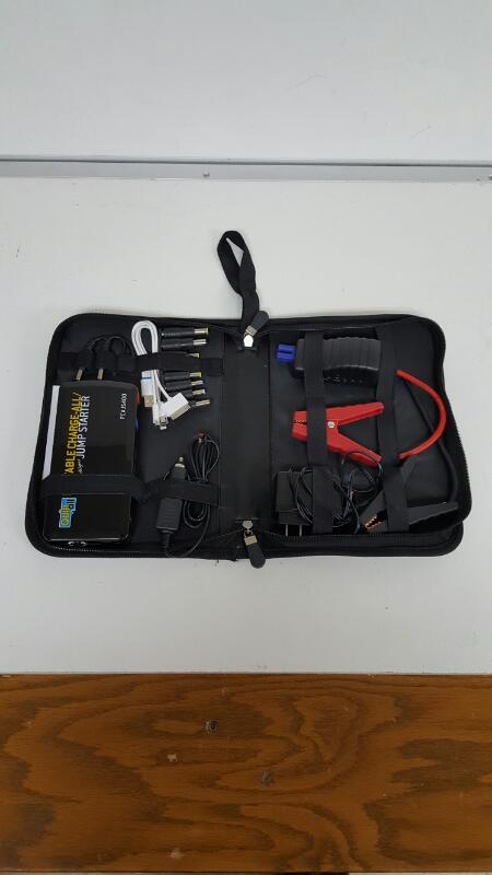 Quip All - Portable Charge-All/Jump Starter - Model: PCAJS400