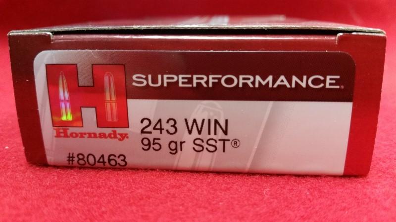 Hornady 243 95gr SST -