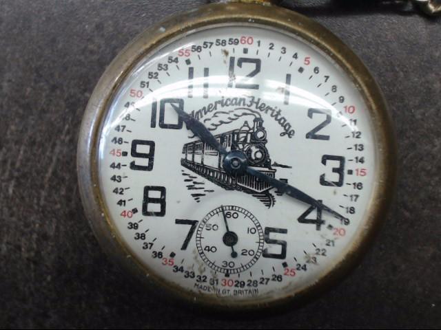 AMERICAN HERITAGE Pocket Watch POCKET WATCH