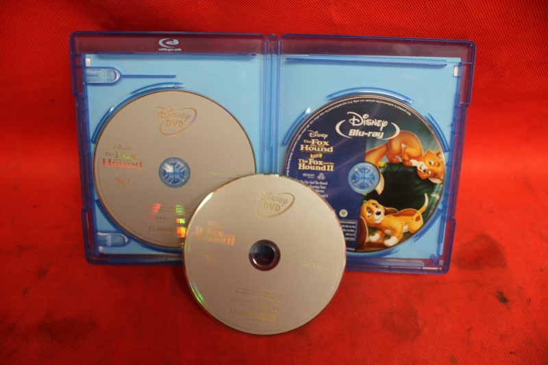 The Fox and the Hound/Fox and the Hound II (Blu-ray/DVD, 2011 )