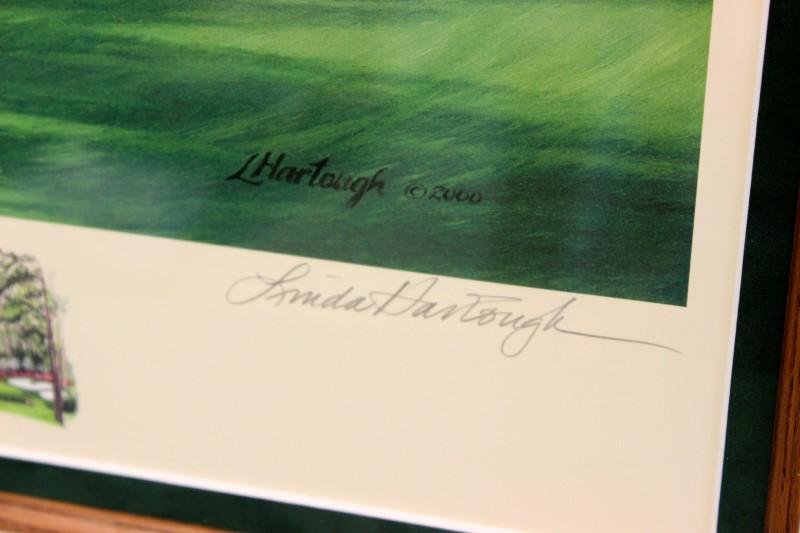 "Linda Hartough The 13th Hole ""Azelea"" August, GA Print"
