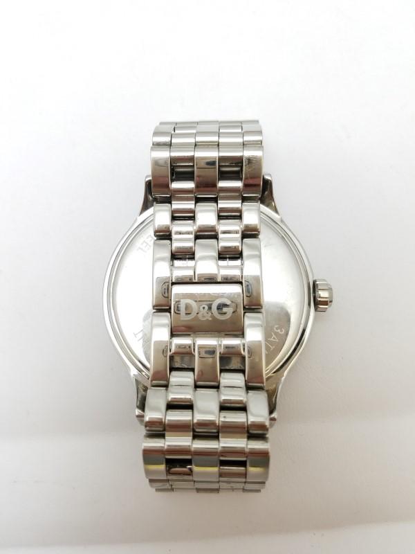 Dolce & Gabbana DW0131 Men's Round Analog Stainless Steel Watch