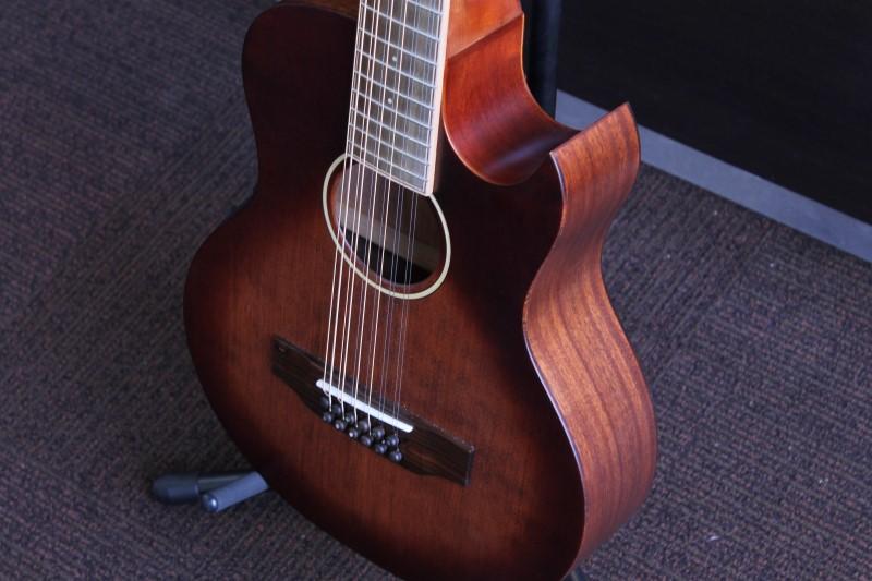 Morgan Monroe 10 String Guitar MMV-12CEB Dreadnought