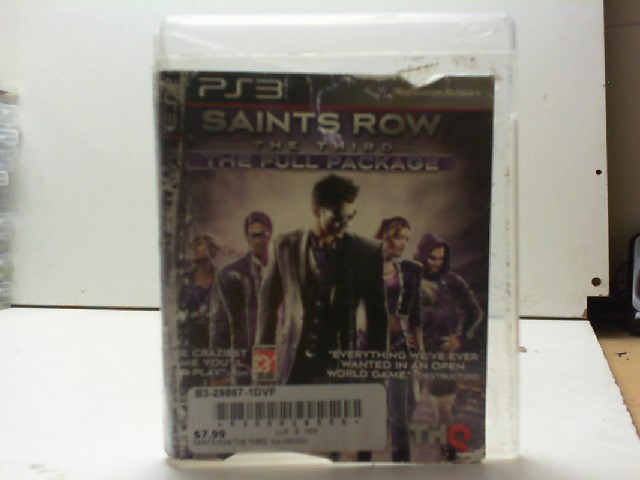 SONY Sony PlayStation 3 Game SAINTS ROW THE THIRD THE FULL PACKAGE