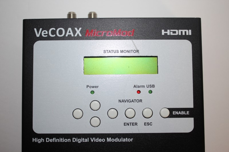 PRO VIDEO INSTRUMENTS VECOAC MICROMOD HD VIDEO MODULATOR