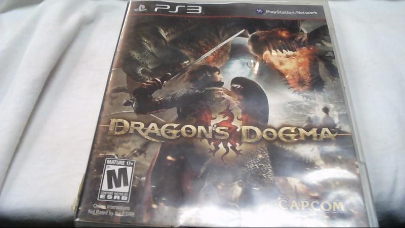 Sony PlayStation 3 Game DRAGONS DOGMA
