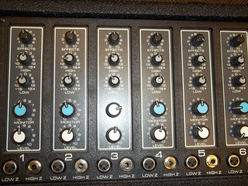 PEAVEY MIXER XR-600B