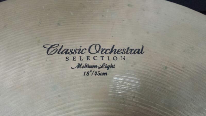 """ZILDJIAN Cymbal 18"""" CRASH"""