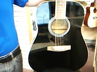 MAIN STREET GUITARS Acoustic Guitar MH-241CBK