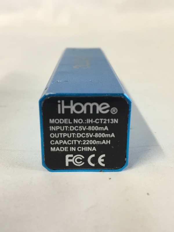 IHOME Battery/Charger IH-CT213N
