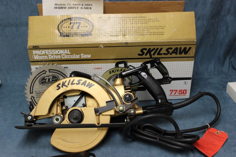 Skilsaw Professional Commeorative Edition 77 Worm Drive Circular Saw