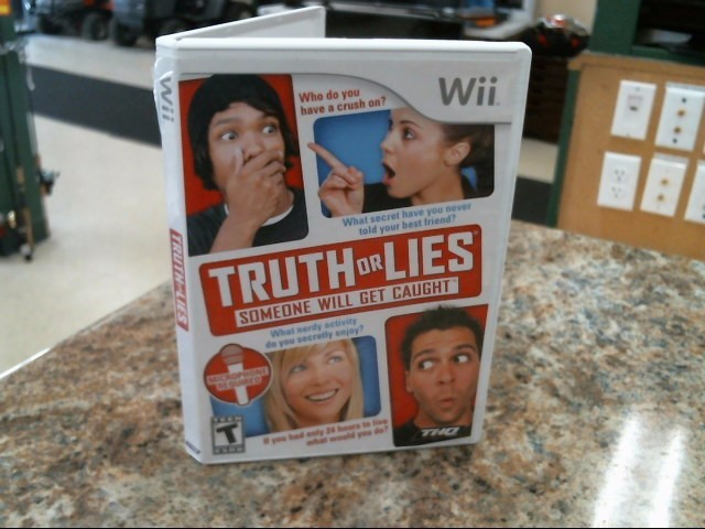 NINTENDO Nintendo Wii Game TRUTH OR LIES