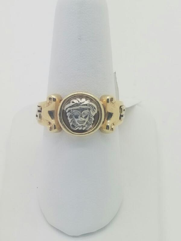 L'S GOLD PLATED Gent's Gold Ring NO STONE(S) 14K Yellow Gold 5.1dwt Size:9
