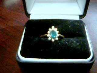 Lady's Gold Ring 14K Yellow Gold 3.2g Size:8