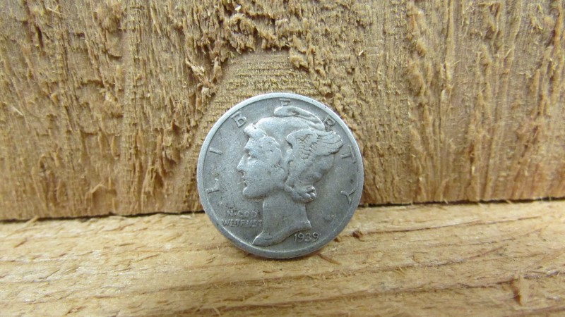 UNITED STATES Silver Coin 1939 MERCURY