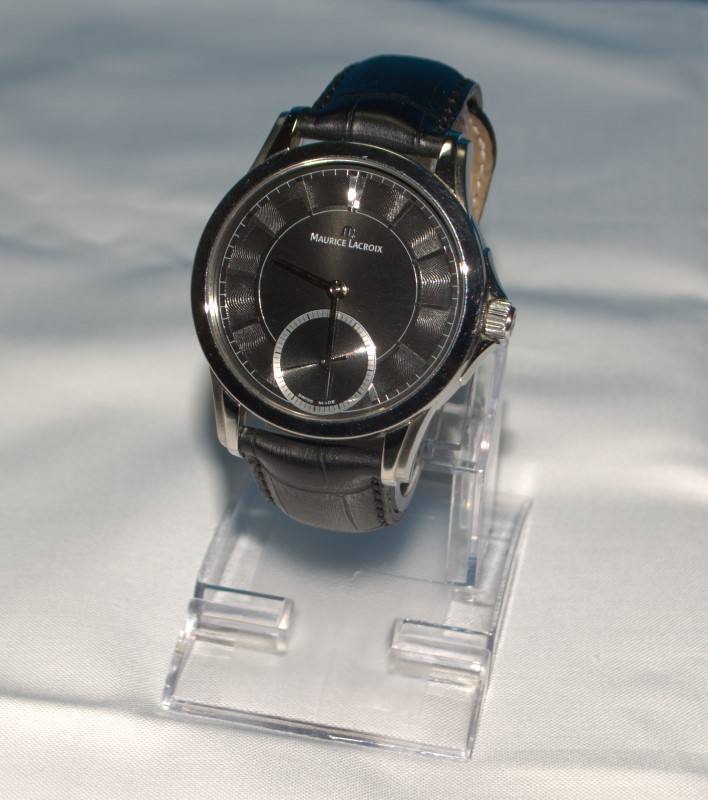 Maurice Lacroix PT7518 Stainless Steel Sapphire Crystal Manual Wind Men's Watch