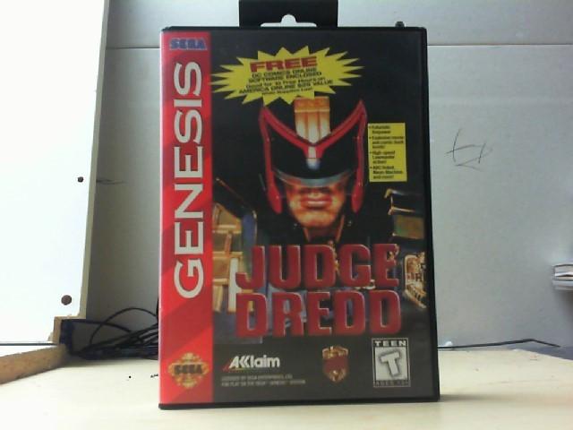 SEGA Sega Game JUDGE DREDD