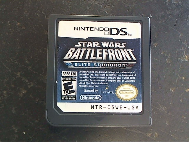 NINTENDO Nintendo DS Game STAR WARS BATTLEFRONT ELITE SQUADRON