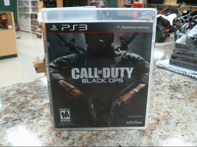 SONY Sony PlayStation 3 Game CALL OF DUTY BLACK OPS PS3