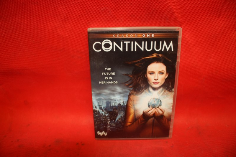 CONTINUUM Season One (2-Disc Set) DVD FREE SHIPPING.